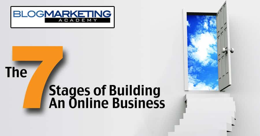 The 7 Stages of Building An Online Business [Infographic and Guide]