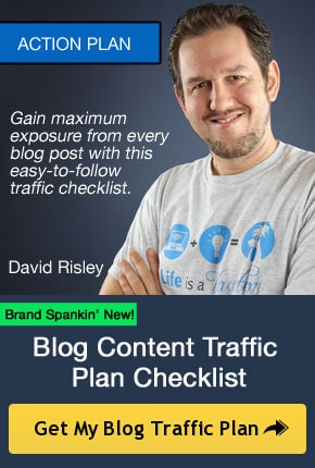 Blog Content Traffic Plan Checklist