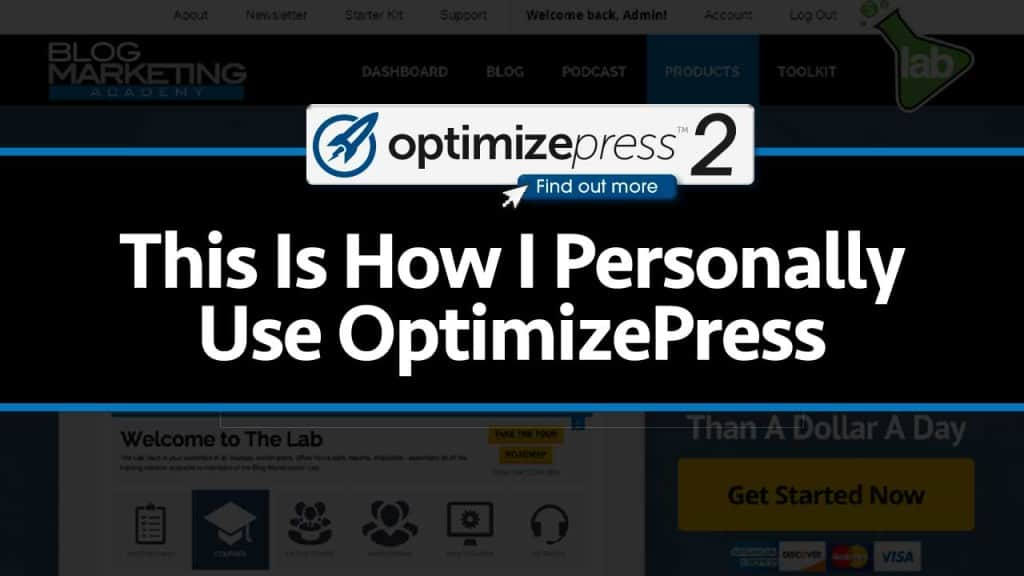 How I Build My Sales Letters And Landing Pages Using OptimizePress [VIDEO]