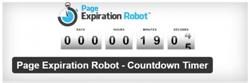 Page Expiration Robot - Countdown Timer