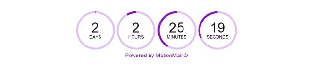Motion Mail - Countdown Timer