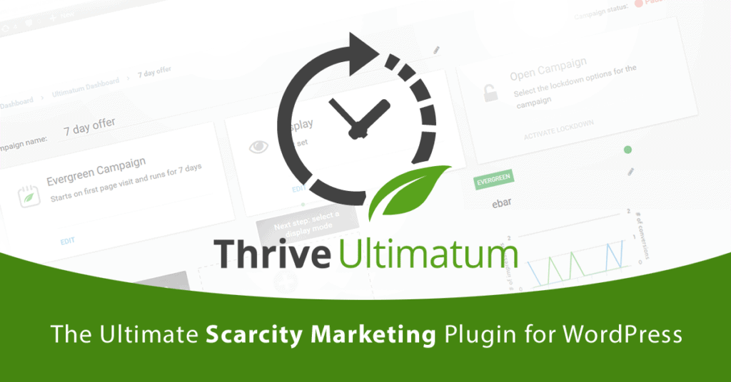 Thrive Ultimatum - Countdown Timers